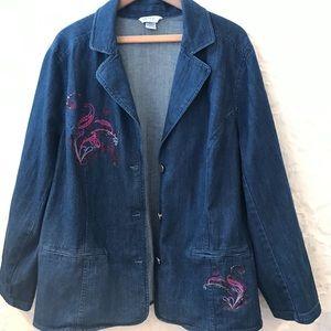 🍃City Blues by Koret | Embroidered Denim Jacket